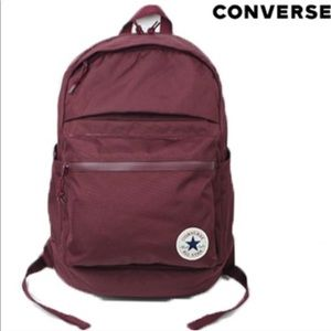 Converse Poly Chuck Plus 1.0 Backpack Maroon Unise NWT